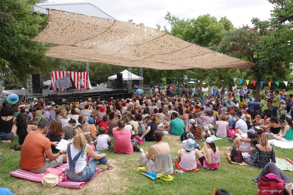 3ο Bobos Arts Festival. Παιδικό Πολιτιστικό Φεστιβάλ στον Κήπο του Μεγάρου. Παρουσιάζει ο ηθοποιός Γιάννης Σαρακατσάνης. Σε συνεργασία: British Council, Εταιρεία Πολιτισμού Πeripatos, Εκδόσεις Μάρτης, Archeolab, Με Λίγη Φαντασία. Κήπος του Μεγάρου, 10 Ιουνίου 2018.